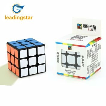 LeadingStar Mini 3 Order Speedcube Brain Teaser Twist Puzzle Toy Magic Cube for for Beginner to Experienced Cubers zk25
