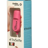 TheSelfie by GabbaGoods - Camera Remote Shutter Release for Apple iPhone, iPad, and iPod touch - Pink