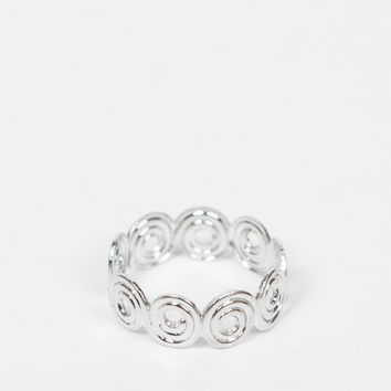 Swirly Knuckle Ring
