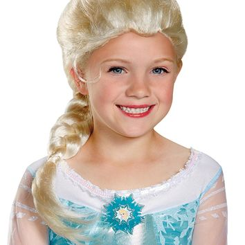 Frozen Elsa Wig Child for Girls