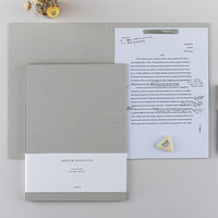 Ardium Simple file folder with fasteners