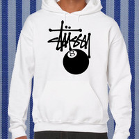 stussy feature the 8 ball Hoodie unisex adults Size S to 2XL
