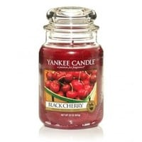 Black Cherry : Large Jar Candle : Yankee Candle