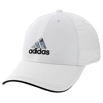 adidas Mens Contract Cap, White/Black/Camo Print, One Size