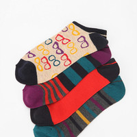 Urban Outfitters - Spec Stripe No-Show Sock - Pack Of 4