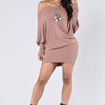Never Too Much Dress - Dusty Pink