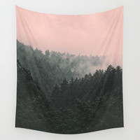 Slowly Sinking In Wall Tapestry by Tordis Kayma