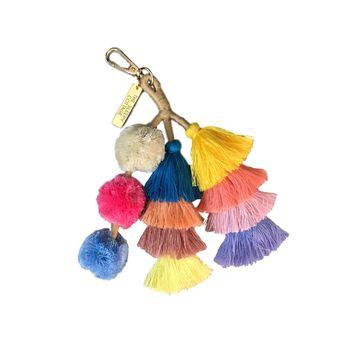 THE DESERT GODDESS TASSEL BAG CHARM
