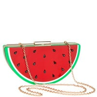 Drinkin' Watermelon Clutch- Final Sale
