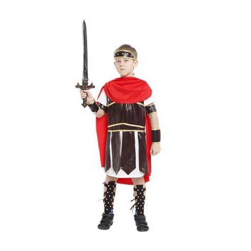 children Ancient rome costumes cosplay costume roman warrior kids roman soldier costumes for boys halloween cosplay clothing