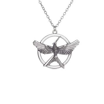 Punk Style Hunger Game Bird Necklace