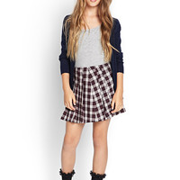 FOREVER 21 GIRLS Classic Knit Cardigan (Kids)