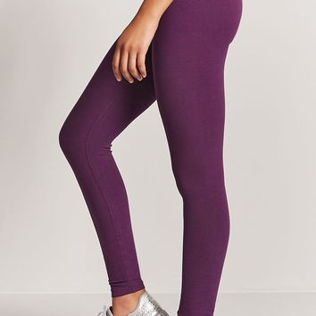 Active Cotton Stretch Leggings