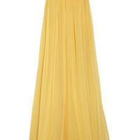 Discount Robert Rodriguez Embellished silk-chiffon strapless gown|THE OUTNET