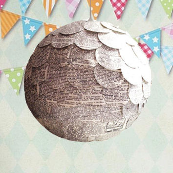 Gender Reveal Pinata  - Like a Gender Reveal Balloon But This Can Be Reused - Pinata Lantern