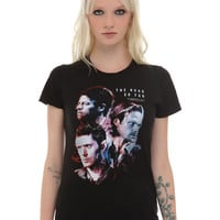 Supernatural The Road So Far Girls T-Shirt