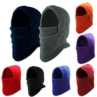 CHIC Fleece Winter Thermal Balaclava Swat Ski Motorcycle Bike Face Mask Hood Hat