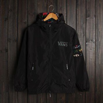 PEAPGZ9 Men VANS Jacket Winter Fashion Stylish Alphabet Hats Double-layered Windbreaker [103858044940]
