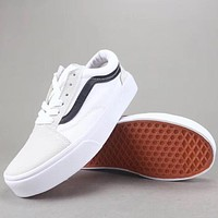 Vans Old Skool Women Men Fashion Casual Canvas Shoes-3