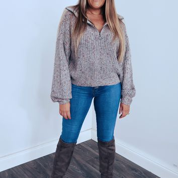 Dreaming Of Fall Sweater: Multi