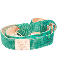 KANTHA QUILTED YOGA STRAP