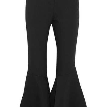 Ellery - Sinuous crepe flared pants