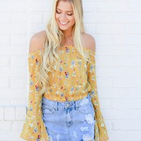 Mackenna Off Shoulder Blouse