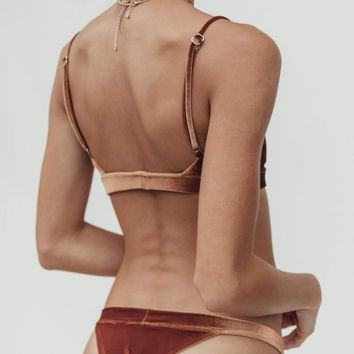 Dbrie Gigi Bottom in Penny Velvet