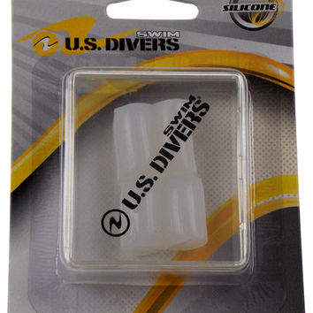 US Divers Silicone Swimming 4 Ear Plugs With Case Swim Moldable Reusable Set 4