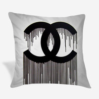 Chanel Drip Pillow Cover