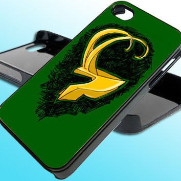 The Avengers Thor Loki for iPhone 4/4s Case - iPhone 5 Case - Samsung S3 - Samsung S4 - Black - White (Option Please)