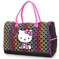 Personalized Hello Kitty Duffle Bag