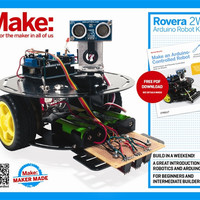 MAKE Rovera 2WD Arduino Robot Kit