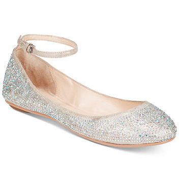 Blue by Betsey Johnson Joy Evening Flats | macys.com