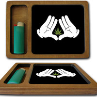 Roca Weed Rolling Tray Manufactured and Printed In California