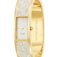 Kate Spade - on the rocks carousel bangle watch