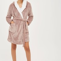 Patterned Dressing Gown | Topshop