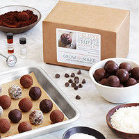 Make Your Own Chocolate Truffles Kit | Chocolate truffle recipe