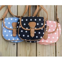 All Too Well Polka Dot Mini Cross Body Purses
