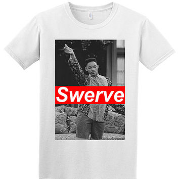 Fresh Prince Will Smith Swerve Dope Hipster Retro Swag 90S T Shirt Uk Seller