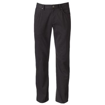 Marc Anthony Slim-Fit Brushed Flat-Front Chino Pants