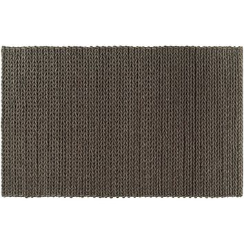 Artisan Weaver Langston Braided Wool Rug (Brown)