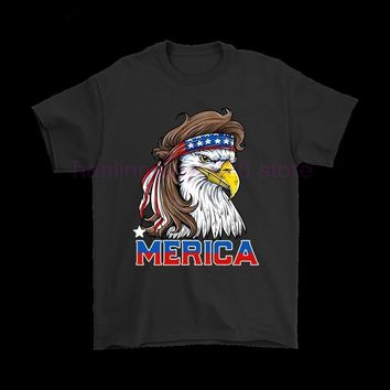 American Eagle Bandana 4th Of July American Flag Shirt