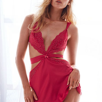Cutout Satin Slip - Dream Angels - Victoria's Secret
