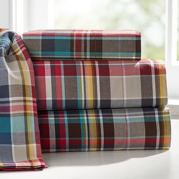 Wrangler Plaid Sheet Set