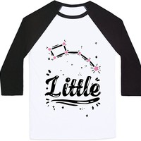 Dippers (Little Dipper) Mens/Unisex Baseball Tee by LookHUMAN