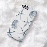 Nautical Starfish & Seashells iPhone 6 case