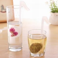 Music Note Shape Tea Strainers Cute Useful Tea Infuser Tea Leaf Strainer Filter Diffuser Silicone Kitchen Tools & Gadgets MS552