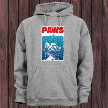 paws Hoodie Sweatshirt variant color Unisex size