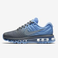 NIKE AirMax Trending Women Personality Sports Air Cushion Running Shoes Sneakers Blue Grey I